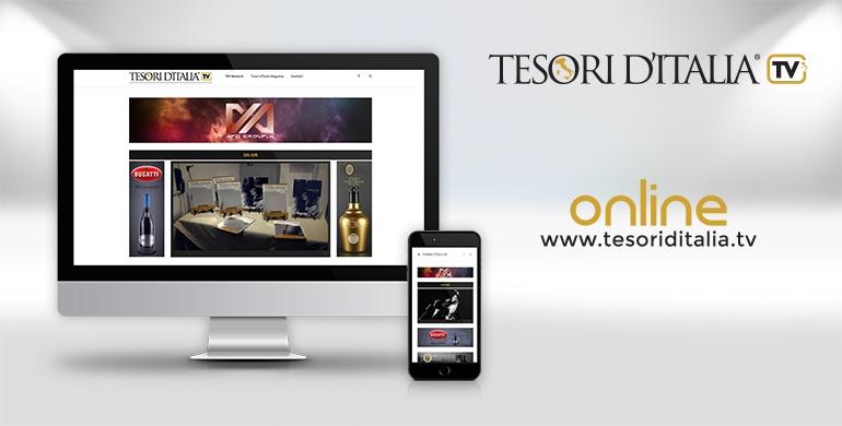 Tesori d'Italia TV è online