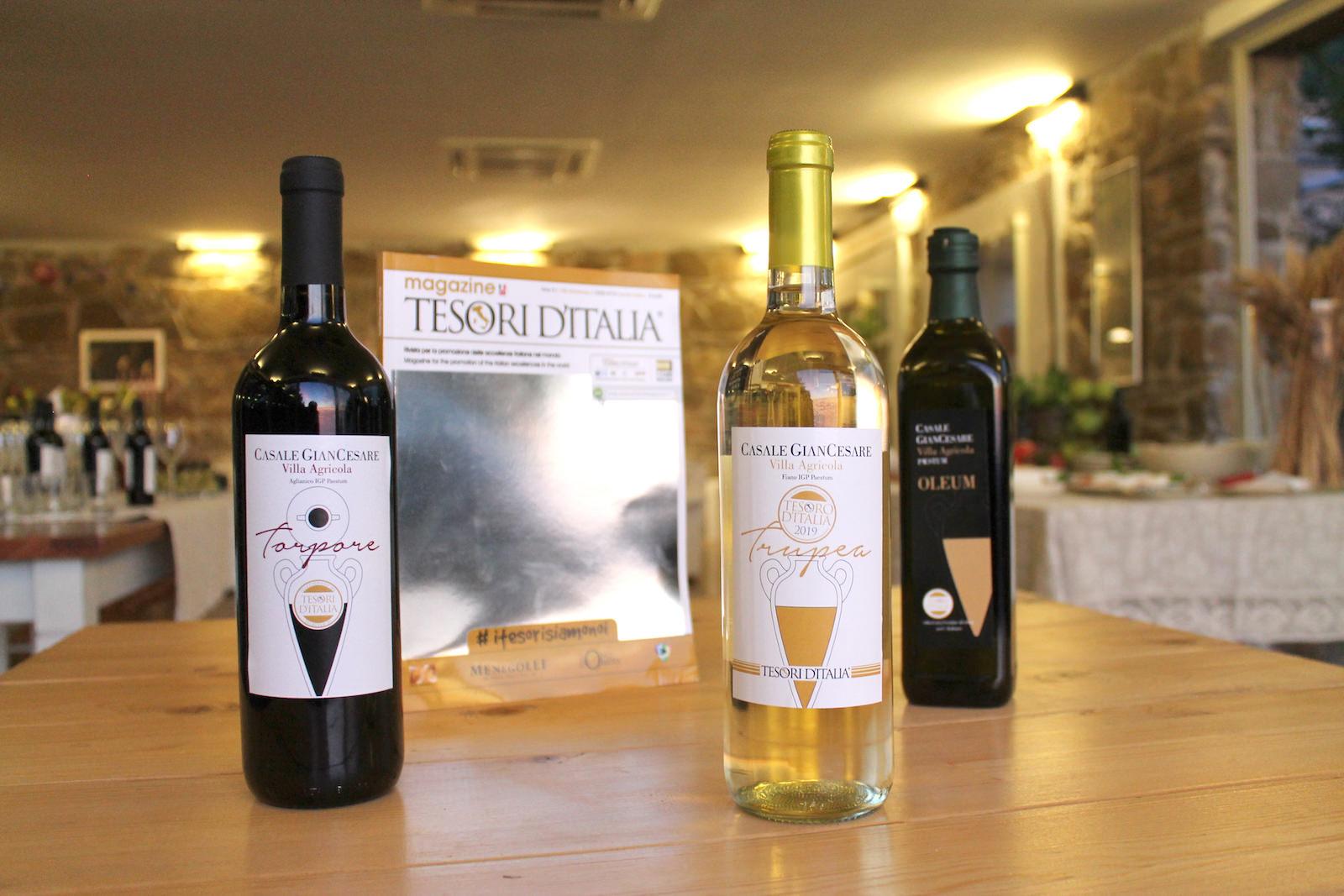 I prodotti di Casale Giancesare nella Private Label di Tesori d'Italia