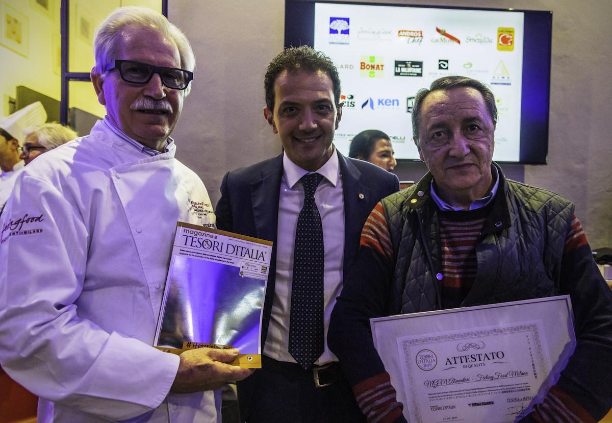 Dall'ingegno di Maurizio Vaglia, FeelingFood Milano premia l'Eccellenza