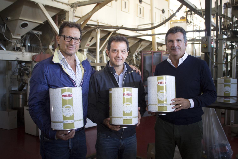 Parte con Caffè Moreno la produzione della Linea Food di Tesori d'Italia