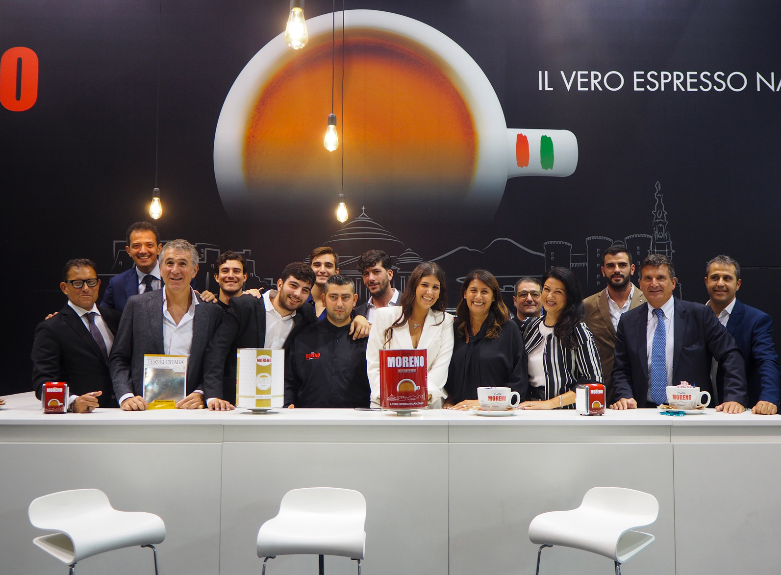 Private Label di Tesori d'Italia: anteprima all'Host di Milano con Caffè Moreno