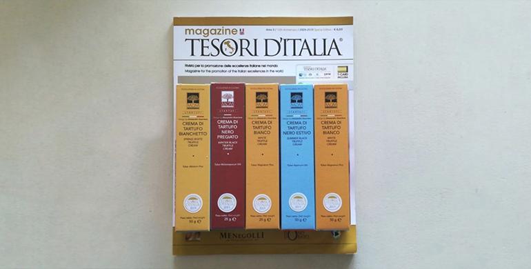 Tesori d'Italia in joint con Mgm Alimentari e Feeling Food Milano