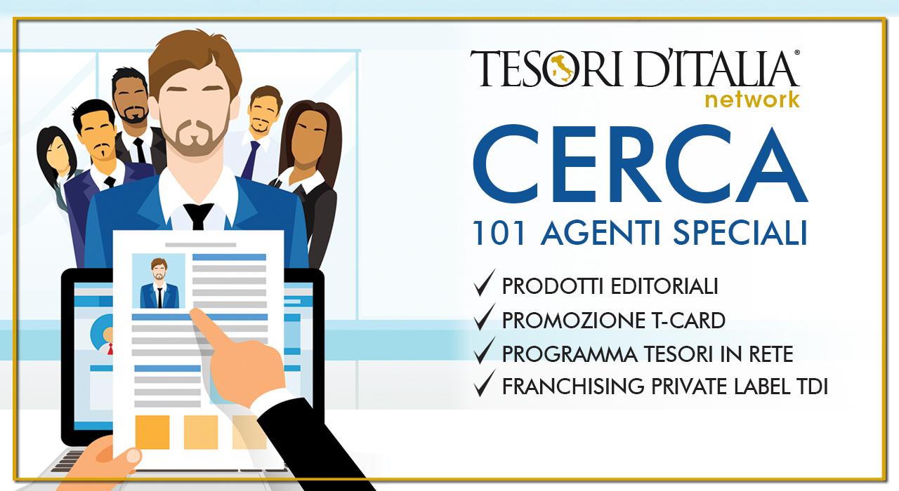 """Tesori d'Italia lancia la Campagna """"101, Agenti Speciali"""""""