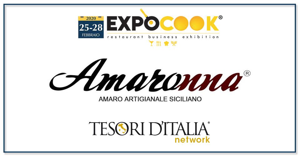 Tesori d'Italia all'Expocook di Palermo con Amaronna