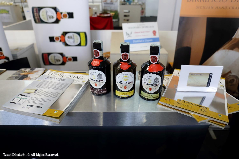 Amaronna, con Tesori d'Italia dall'Expocook di Palermo al Giappone