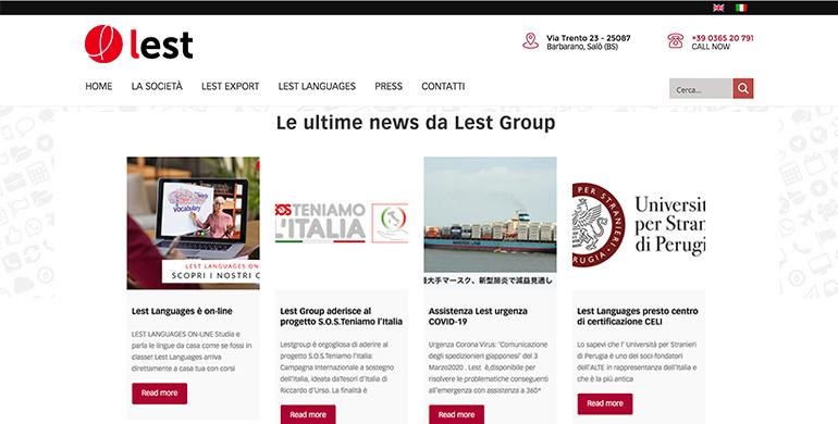 Lest Group con Tesori d'Italia a sostegno del Paese