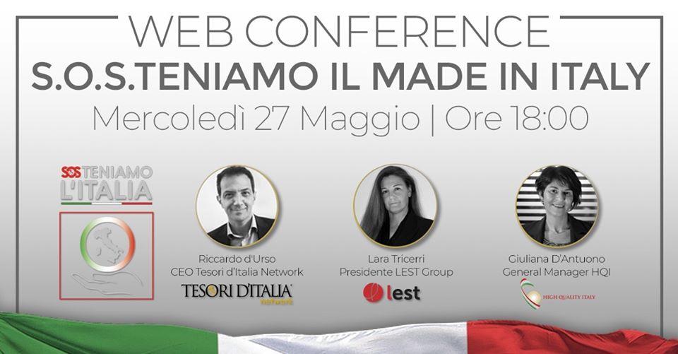 S.O.S.Teniamo l'Italia. Il piano Export riparte dalla autenticità del Made in Italy